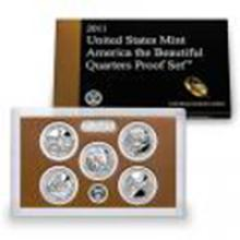 US Proof Set 2011 5pc (Quarters Only) America The Beaut