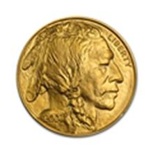 1 oz Gold Buffalo (Abrasions)