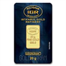 20 gram Istanbul Gold Refinery Bar (In Assay) .9999 Fin