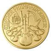 Austrian One Ounce Philharmonic Gold Coin (Random Year)