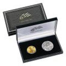 2006 American Eagle 20th Anniversary Gold & Silver Set