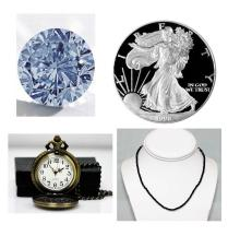 Genuine Fine Gems, Coins, Jewelry & Watches