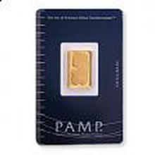 Gold Bars: Pamp Suisse 5 Gram Gold Bar