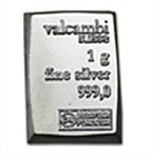 1 gram Silver Bar (Secondary Market) .999 Fine