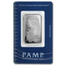 20 gram Pamp Suisse Silver Bar - Fortuna (In Assay)