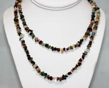 180.44 CTW NATURAL UN-CUT Multi Semi precious stone Ne