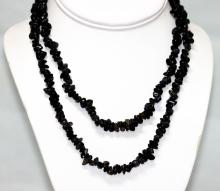 265.01 CTW Natural Un-cut Iolite Bead Necklace