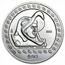 1/2 oz Mexican Silver 50 Pesos Guerrero Aguila 1992