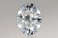 EGL CERT 2 CTW Oval DIAMOND H/VS2