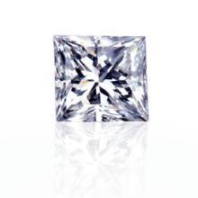 GIA CERT 0.32 CTW PRINCESS DIAMOND D/I1