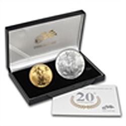 2006-W (2-Coin) Gold & Silver American Eagle Set (w/Box