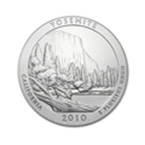 2010 5 oz Silver ATB - Yosemite National Park, Californ