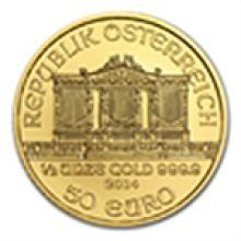 2014 1/2 oz Gold Austrian Philharmonic