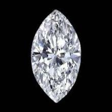 EGL CERT 0.71 CTW MARQUISE DIAMOND F/SI2