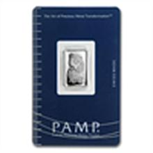 5 gram Pamp Suisse Silver Bar - Fortuna (In Assay) .999