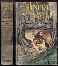 The Kindred Of The Wild , A Book Of Animal Life  Roberts, Charles G.D.