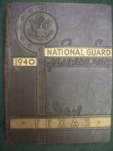 Historical And Pictorial Review National Guard Of The State Of Texas 1940