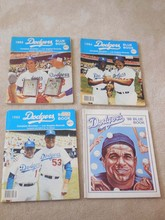 12 Dodger Books from the 80's