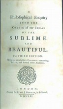 1761 A Philosophical Enquiry Into The Origin Of Our Ideas Of The Sublime And Beautiful