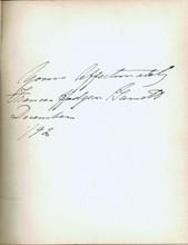 1892 Giovanni And The Other Frances Hodgson Burnett- signed