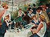 Mark Tansey: Renoir (Luncheon of the Boating Party)