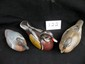 Lot Of 3 Handpainted Wooden Duck Decoys