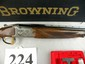 Browning Citori Quail Unlimited Grade 3 28 Gauge