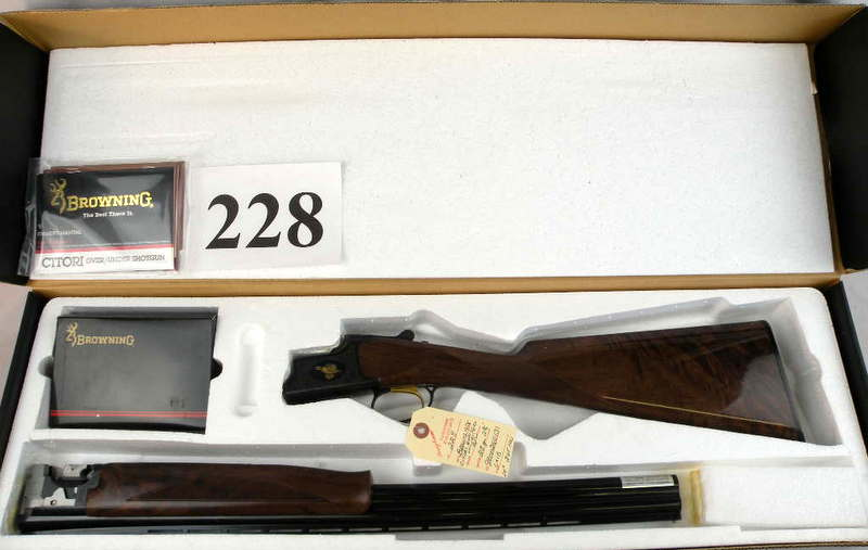 "Browning Citori ""Quail Unlimited"" Upland Game Series 28 Gauge"