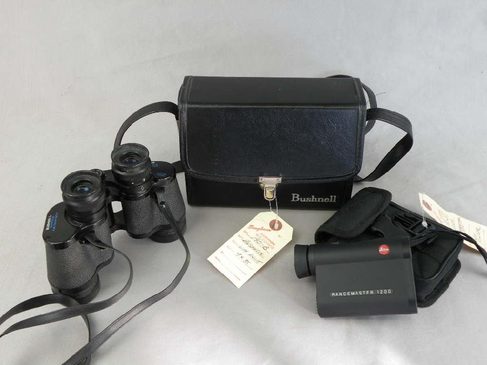 Bushnell 7 X 35 Wide Angle Binoculars with Leica 1200 Rangefinder