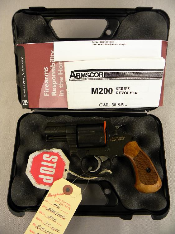 Armscor Model 206 38 Special