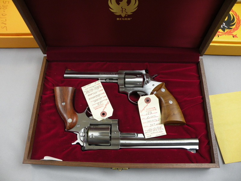 Ruger Police Marksman Assoc. Limited Edition (1000) Matched Pair 357 And 44 Mag