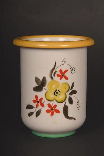 PP-Vase Sign.n.g.(Håndgrafikk)H:13.5cm.