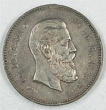 Silver Medal in 1888,