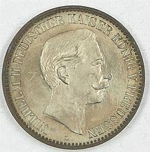 Medal Germany 1888 Peace Travel Kaiser Wilhelm II. 1888
