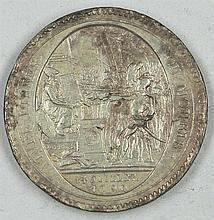 Medal 1792 Monnaies de Confiance, Monneron de 5 Sols au Serment, Birmingham Soho in 1792