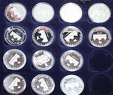 Lot of 9 medallions