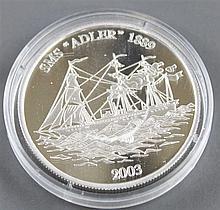 Samoa 2003, 10.- dollars - silver coin