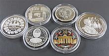 BRD, Lot medals, consisting of 750 Years Berlin - International Congress of Berlin in 1878