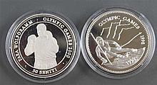 Mongolia / Tonga 1998 1 x 500 Togrog - silver coin