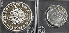 Hungary / Austria 2006, two silver coin