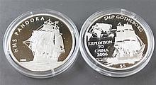 Palau 2006 5.- dollars - silver coin, silver 925,