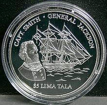 Tokelau 2003 5 Tala - silver coin