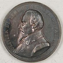 Medal France (v. Oudine) 1898 Olivier de Serres Seigneur du Pradel