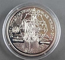 Falkland Islands 2007, 1 Crown - silver coin