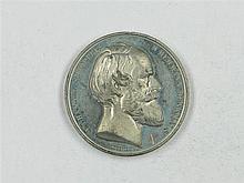 Medal 1875. F. Brehmer, Medal for Hermann Monument by the Creator E. v. Bandel