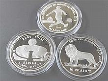 Lot silver coins