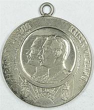 Commemorative medal Hessen, portable commemorative medal