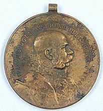 Austria WWI., Medal WW1, Signum Laboris Kaiser Franz
