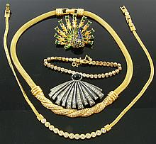 5 parts high-quality costume jewellery