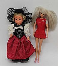1 old Barbie